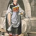A Serving Girl At An Inn by Josef Anton Kapeller