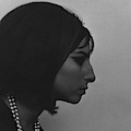 A Side View Of Barbra Streisand by Cecil Beaton