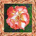 A Single Rose The Dancing Swirl  by Irina Sztukowski