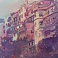 A Slice Of Riomaggiore by Jenny Armitage