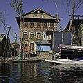 A Slightly More Run Down Section Of The Dal Lake by Ashish Agarwal