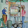 A Snocone For A Child In San Juan Pr by Frank Hunter
