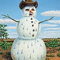 A Snowman In Texas by James W Johnson