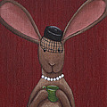A Sophisticated Bunny by Christy Beckwith