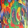 A Splash Of Paint by Taiche Acrylic Art