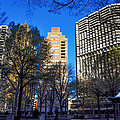 A Spring Day At Rittenhouse Square by Bill Cannon