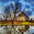 A Spring Flood by Dragica  Micki Fortuna