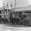 A Stagecoach In Tombstone by Underwood Archives