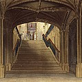 A Staircase, Windsor Castle, From Royal by Charles Wild