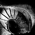 A Stairwell In The Catacombs Of Paris France by Richard Rosenshein