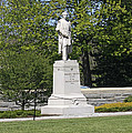 A Statue Of Colonel Thayer by James Connor