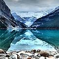 A Still Day At Lake Louise by Tara Turner