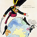 A Stoppage To A Stride Over The Globe, 1803 Litho by English School