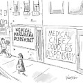 A Storefront Medical Marijuana Dispensary by Ken Krimstein