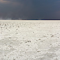 A Storm Approaching The Salt Pan by Sergio Pitamitz