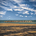 A Storm Barrier On Presque Isle by Gary Warnimont