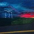 A Stormy Sunset by Kayla Twardowski