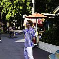 A Street Entertainer In The Hollywood Section Of The Universal Studios by Ashish Agarwal