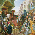 A Street In Cairo by John Frederick Lewis