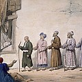 A String Of Blind Beggars, Cabul, 1843 by James Atkinson