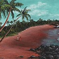 A Stroll On A Tropical Beach by Darice Machel McGuire