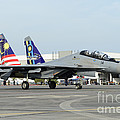 A Sukhoi Su-30 Of The Royal Malaysian by Remo Guidi