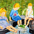 A Summers Day by Arlene  Wright-Correll