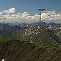 A Summit View Panorama With Peak Labels by Jeremy Rhoades