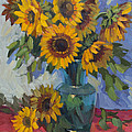 A Sunflower Day by Diane McClary