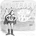 A Superhero With An I On His Chest by Roz Chast