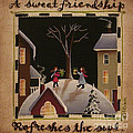 A Sweet Friendship  Winter by Catherine Holman