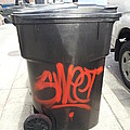 A Sweet Garbage Can. by Zac AlleyWalker Lowing