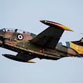 A T-2e Buckeye Trainer Aircraft by Timm Ziegenthaler