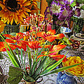 A Table Of Flowers by Shannon Story