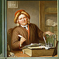 A Tax Collector, 1745 by Tibout Regters