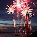 A Three Burst Salvo Of Fire For The Fourth Of July by Jeff Folger