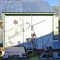 A Tool Shed In The Back Yard by Jeelan Clark