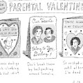 A Triptych Of Parental Valentines Day Cards That by Roz Chast
