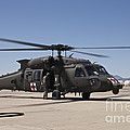 A Uh-60 Blackhawk Helicopter by Terry Moore