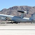 A U.s. Air Force E-3a Sentry Taking by Riccardo Niccoli