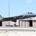 A U.s. Air Force F-15c Eagle Taking by Riccardo Niccoli