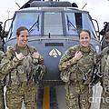 A U.s. Army All Female Crew by Stocktrek Images