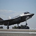 A U.s. Marine Corps F-35b Aircraft by Stocktrek Images