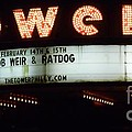 A Valentines Weekend With Ratdog  Tower Theater Marquis by Kevin J Cooper Artwork