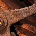 A Very Rusty Steering Wheel by Phyllis Denton