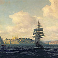 A View Of Constantinople by Michael Zeno Diemer