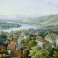 A View Of Karlsruhe by Thomas Sidney Cooper