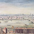 A View Of London From St Pauls To The Custom House, 1837 by Gideon Yates
