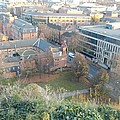 A View Of Nottingham by James Potts