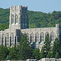 A View Of The Cadet Chapel At The United States Military Academy by James Connor